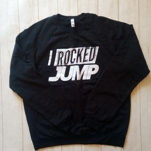 """Men's American Apparel Fleece """"I Rocked Jump"""" logo"""